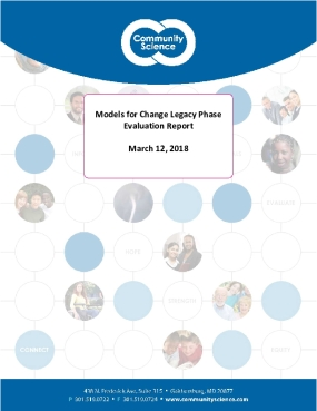Models for Change Legacy Phase Evaluation Report